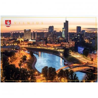 Turistinis atvirukas 4001.9389 Vilnius