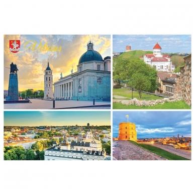 Turistinis atvirukas 4001.9390 Vilnius