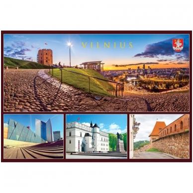 Turistinis atvirukas 4001.9391 Vilnius