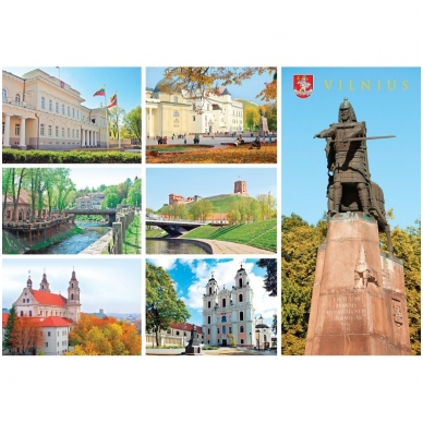 Turistinis atvirukas 4001.9392 Vilnius