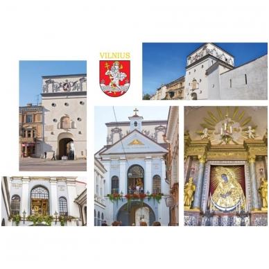 Turistinis atvirukas 4001.9394 Vilnius