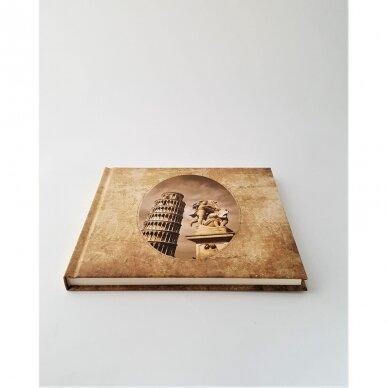 """Užrašų knyga retro  Pizos bokštas"""" 2"""